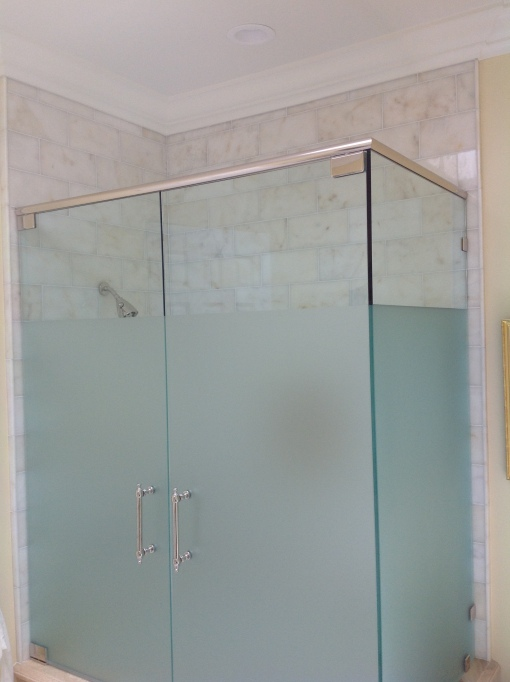 Starfire shower door