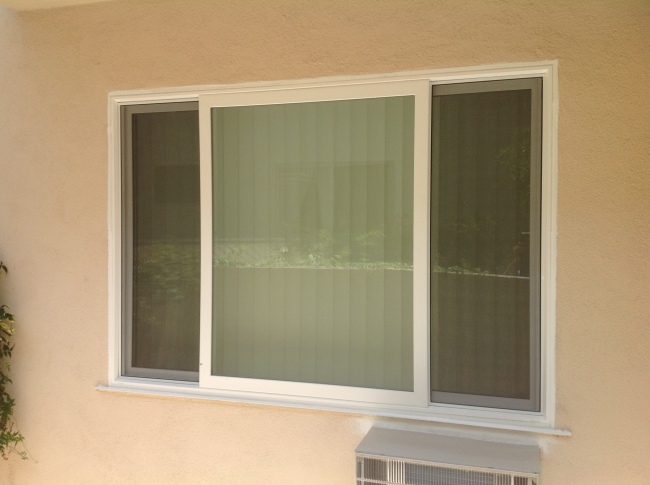 How vinyl windows look like after installation tashman for Milgard vinyl windows
