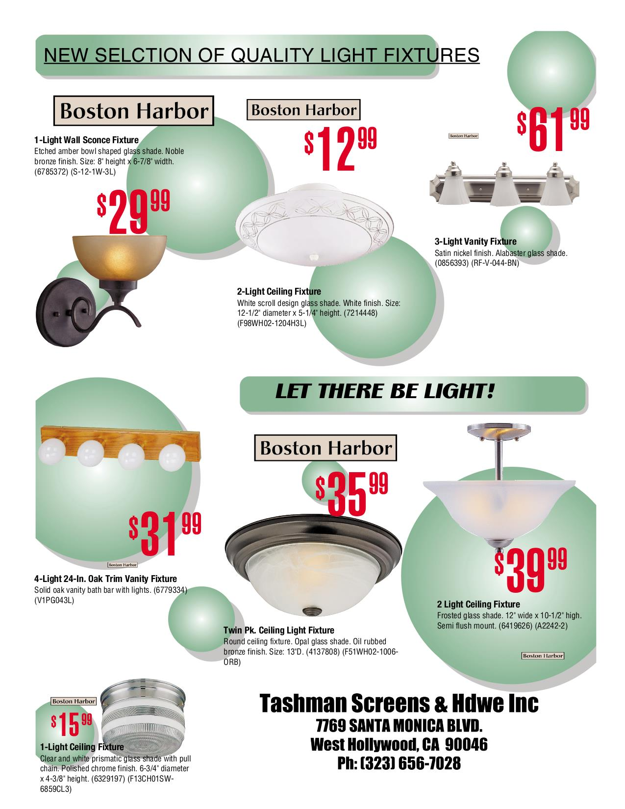 Wonderful range of stylish light fixtures at Tashmans | Tashman Home ...