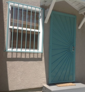 Custom window and door security bars silver lake