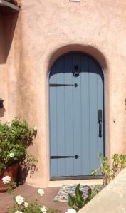 Fiberglass arched door